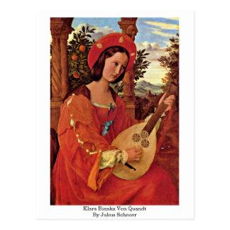 Cartão Postal Klara Bianka Von Quandt Julius Schnorr