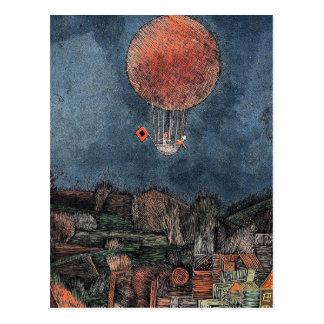Cartão Postal Klee - Der Luftballoon