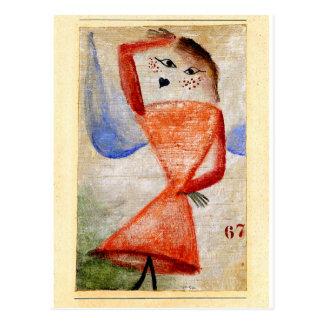 Cartão Postal Klee - fragmento 67