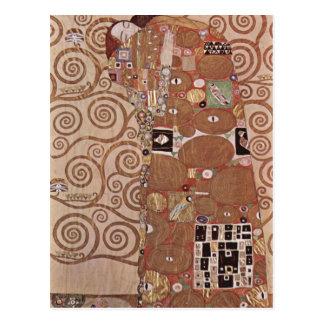 Cartão Postal Klimt, Gustavo Entwurf f? antro Wandfries im