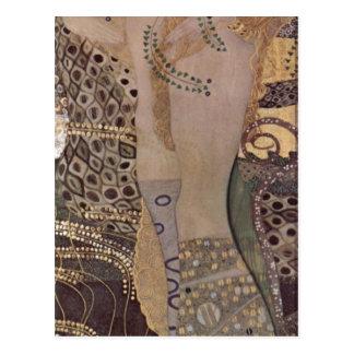 Cartão Postal Klimt, Gustavo Wasserschlangen mim (Th de