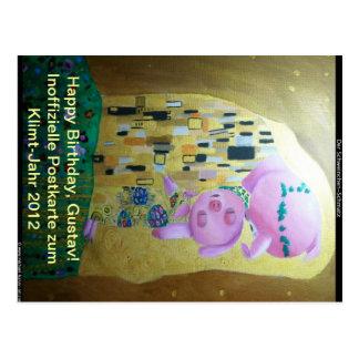 Cartão Postal Klimt-Jahr-2012