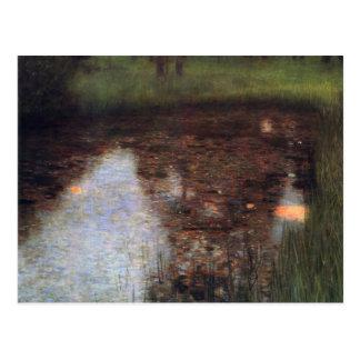 Cartão Postal Klimt - o pântano