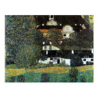 Cartão Postal Klimt - Schloss Kammer am Attersee II