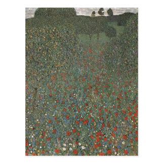 Cartão Postal Klimt, técnica 1907 de Gustavo Mohnfeld? l auf