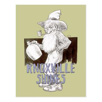 Cartão Postal Knoxville brilha