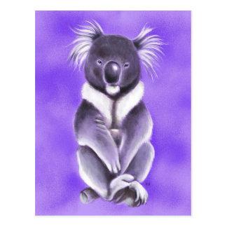 Cartão Postal Koala de Buddha