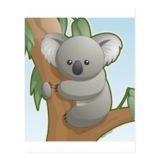 Cartão Postal Koala de Kawaii