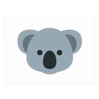 Cartão Postal Koala emoji