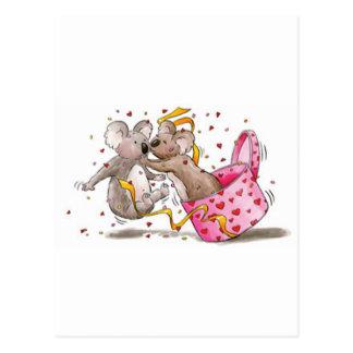 Cartão Postal Koala Kouple