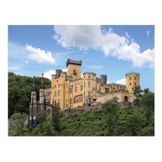 Cartão Postal Koblenz, Alemanha, castelo de Stolzenfels, Schloss