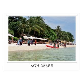 Cartão Postal Koh Samui - Thailand