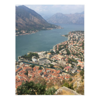 Cartão Postal Kotor, Montenegro