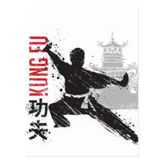 Cartão Postal Kung Fu