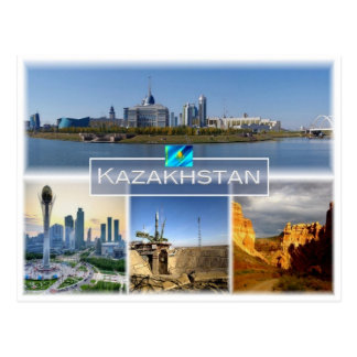 Cartão Postal KZ Kazakhstan - Astana -