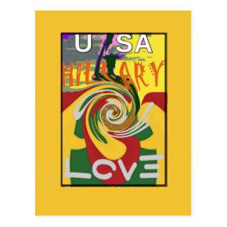 Cartão Postal l ama o vermelho do presidente Forte Junto de