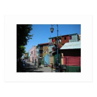 Cartão Postal La Boca Lightpost
