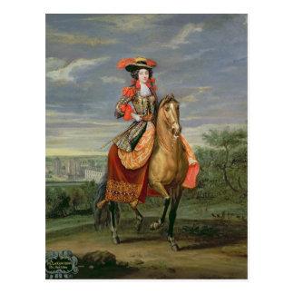 Cartão Postal La Comtesse de Soissons