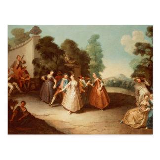 Cartão Postal La Danse