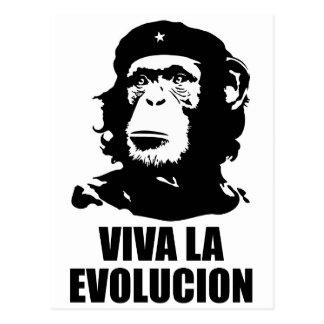 Cartão Postal La Evolucion de Viva
