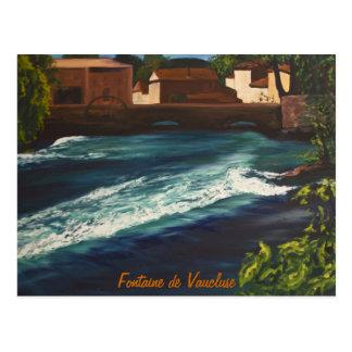 Cartão Postal la Fontaine de Vaucluse