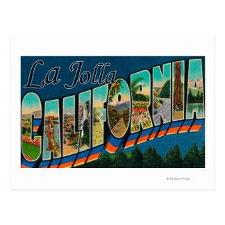 Cartão Postal La Jolla, Califórnia - grandes cenas da letra