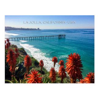 Cartão Postal La Jolla pitoresco, Califórnia