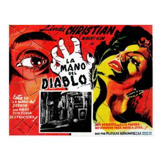 Cartão Postal La Mano Del Diablo