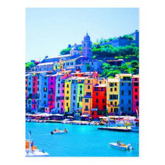 Cartão Postal La Spezia de Cinque Terre