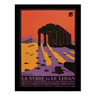 Cartão Postal La Syrie e le Palmyre liban