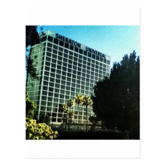 Cartão Postal LA universal dos estúdios do hotel do sheraton