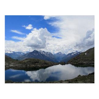 Cartão Postal Lago alpino