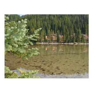 Cartão Postal Lago bonito Oregon devils
