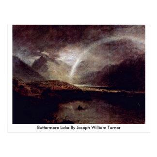 Cartão Postal Lago Buttermere por Joseph William Turner