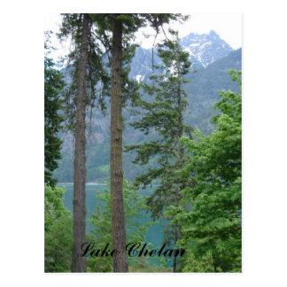 Cartão Postal Lago Chelan