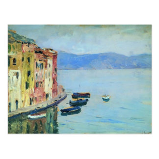 Cartão Postal Lago Como isaac Levitan-