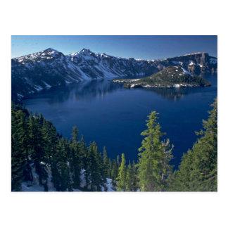Cartão Postal Lago crater