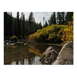 Cartão Postal Lago devils, curvatura, Oregon
