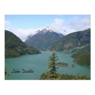 Cartão Postal Lago Diablo