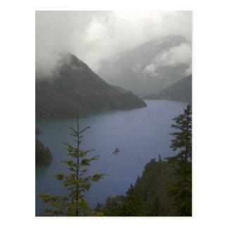 Cartão Postal Lago Diablo - cascatas nortes