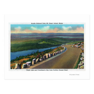 Cartão Postal Lago eagle