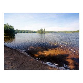 Cartão Postal Lago Édouard