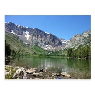 Cartão Postal Lago gigantesco