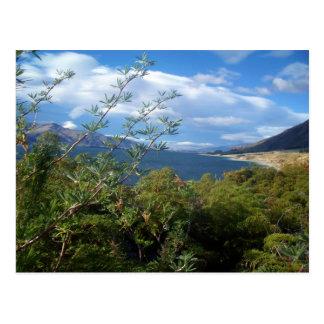 Cartão Postal Lago Hawea, Nova Zelândia