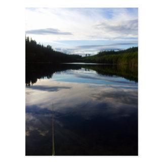 Cartão Postal Lago impressionante sueco