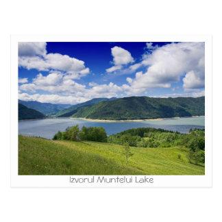 Cartão Postal Lago Izvorul Muntelui