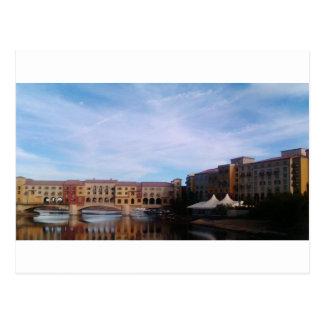 Cartão Postal Lago Las Vegas