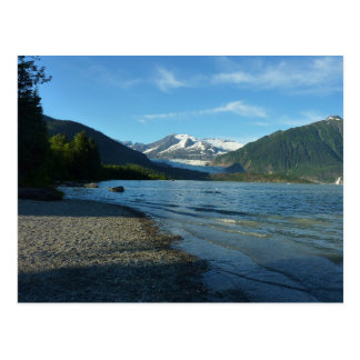 Cartão Postal Lago Mendenhall em Juneau Alaska