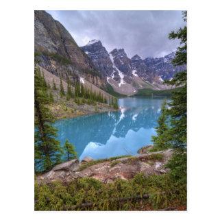Cartão Postal Lago moraine