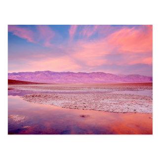 Cartão Postal Lago o Vale da Morte salt Water